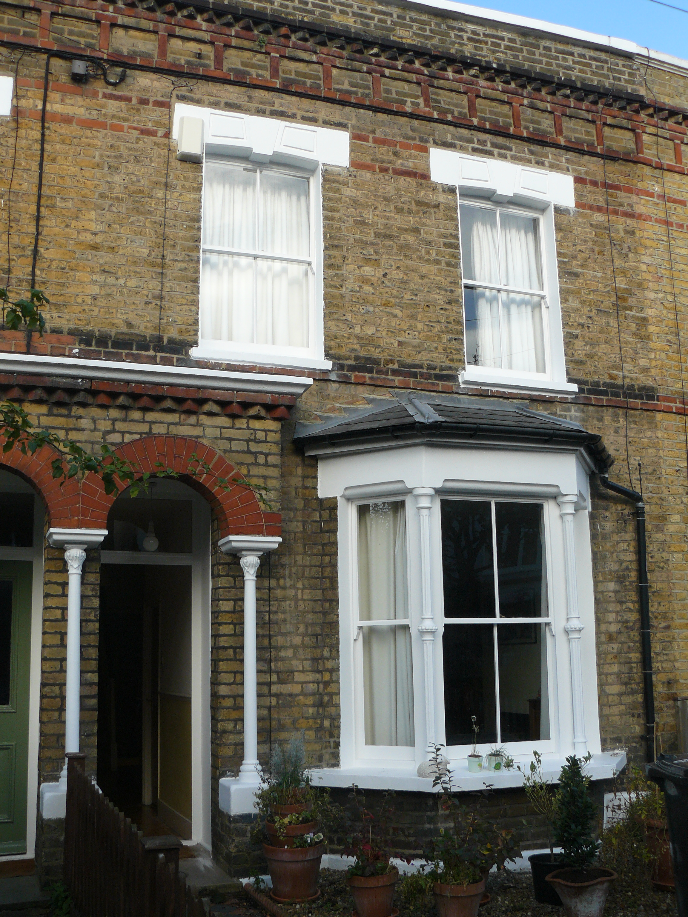 A common little london house the great wen for What is terrace house