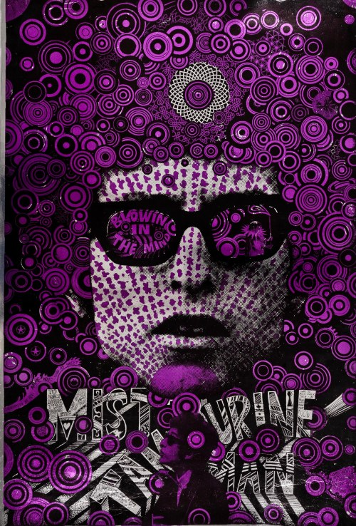 Purple Dylan by Martin Sharp