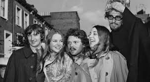 The Mamas & The Papas with Scott McKenzie after Elliot's release.
