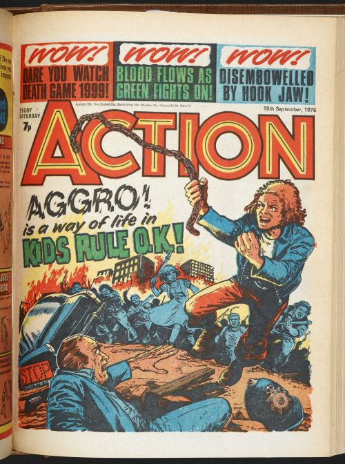 Action 1976-77, by Jack Adrian and Mike White. Action, used with permission from Egmont UK Ltd.