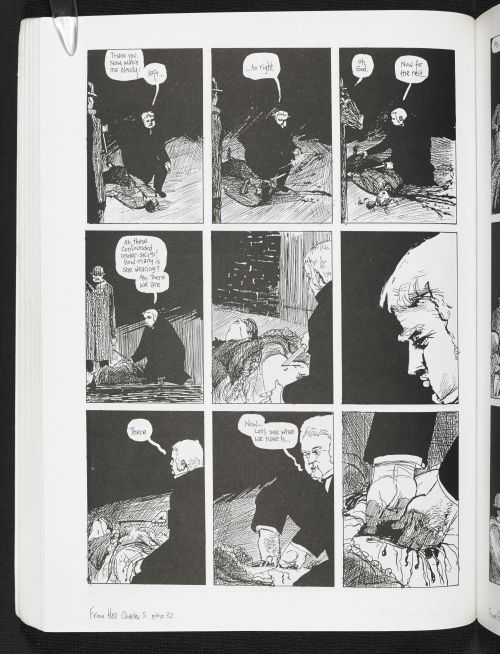 From Hell, by Alan Moore & Eddie Campbell published by Knockabout Ltd. 1999 (c) Knockabout