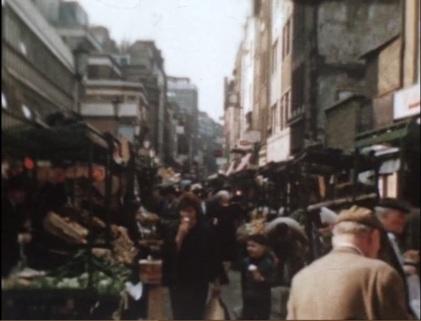 Berwick Street market, 1960s.