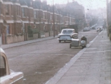 London street, Haringey, 1960s.