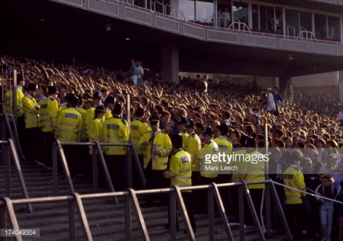 Chelsea at Arsenal, 1990