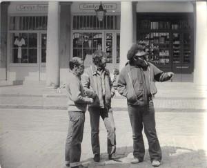 Street people, Covent Garden.