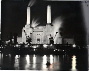 Battersea Power Station, 1975.