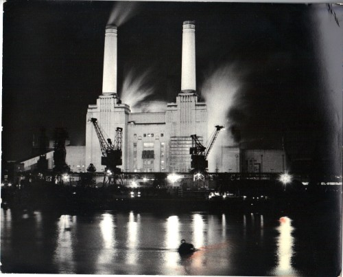 Battersea Power Station, 1975.