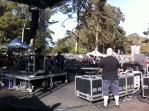 Stage at Golden Gate Park
